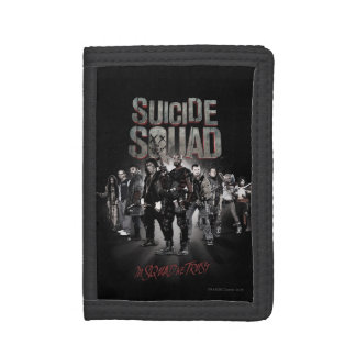 Suicide Squad  Task Force X Lineup Tri-fold Wallet
