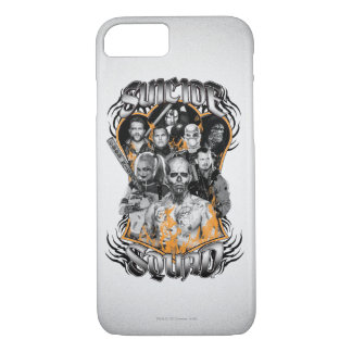 Suicide Squad | Task Force X Tribal Tattoo iPhone 8/7 Case