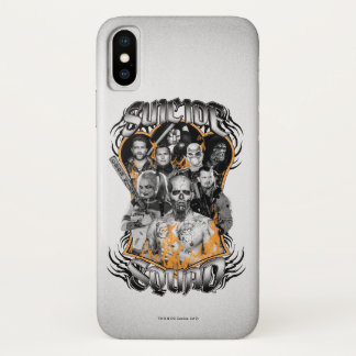 Suicide Squad | Task Force X Tribal Tattoo iPhone X Case