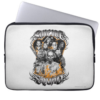 Suicide Squad | Task Force X Tribal Tattoo Laptop Sleeve