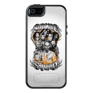Suicide Squad | Task Force X Tribal Tattoo OtterBox iPhone 5/5s/SE Case