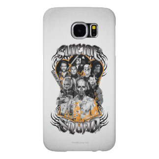 Suicide Squad | Task Force X Tribal Tattoo Samsung Galaxy S6 Cases