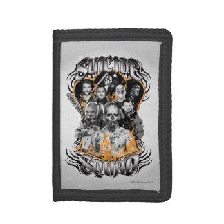Suicide Squad | Task Force X Tribal Tattoo Tri-fold Wallet