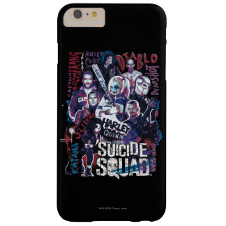 Suicide Squad | Task Force X Typography Photo Barely There iPhone 6 Plus Case