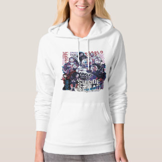 Suicide Squad   Task Force X Typography Photo Hoodie