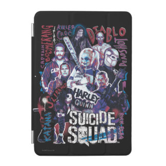 Suicide Squad | Task Force X Typography Photo iPad Mini Cover