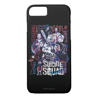 Suicide Squad | Task Force X Typography Photo iPhone 8/7 Case