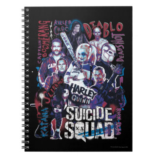 Suicide Squad | Task Force X Typography Photo Notebooks