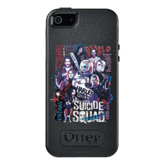 Suicide Squad | Task Force X Typography Photo OtterBox iPhone 5/5s/SE Case
