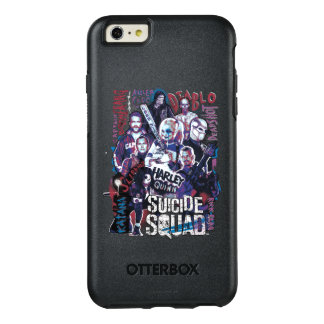 Suicide Squad | Task Force X Typography Photo OtterBox iPhone 6/6s Plus Case