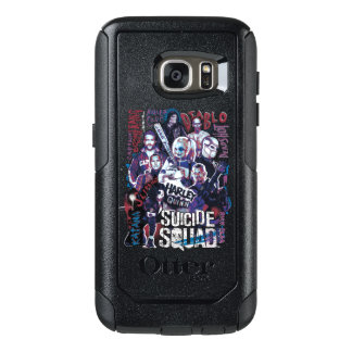 Suicide Squad | Task Force X Typography Photo OtterBox Samsung Galaxy S7 Case