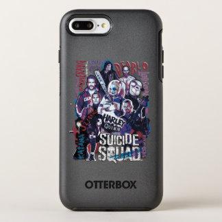 Suicide Squad | Task Force X Typography Photo OtterBox Symmetry iPhone 8 Plus/7 Plus Case