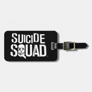 Suicide Squad | White Logo Luggage Tag