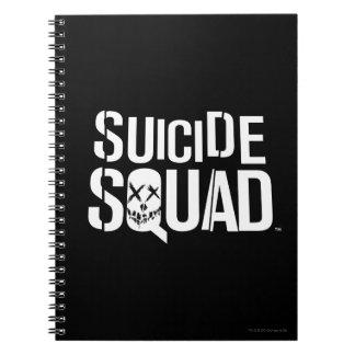 Suicide Squad | White Logo Notebooks