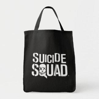 Suicide Squad | White Logo Tote Bag