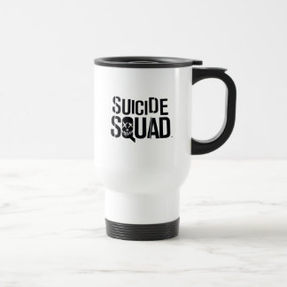 Suicide Squad | White Logo Travel Mug