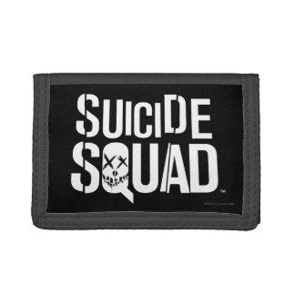 Suicide Squad | White Logo Tri-fold Wallets
