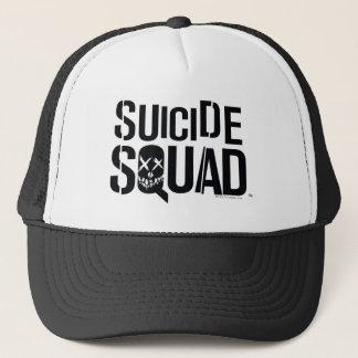 Suicide Squad | White Logo Trucker Hat