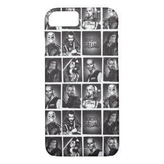 Suicide Squad   Yearbook Pattern iPhone 8/7 Case