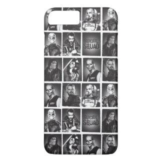 Suicide Squad | Yearbook Pattern iPhone 8 Plus/7 Plus Case