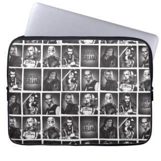 Suicide Squad | Yearbook Pattern Laptop Sleeve