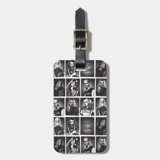 Suicide Squad | Yearbook Pattern Luggage Tag