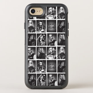 Suicide Squad | Yearbook Pattern OtterBox Symmetry iPhone 8/7 Case