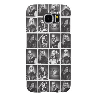 Suicide Squad | Yearbook Pattern Samsung Galaxy S6 Cases