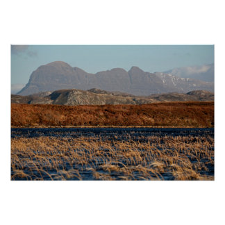 Suilven, Assynt, Highlands of Scotland Poster