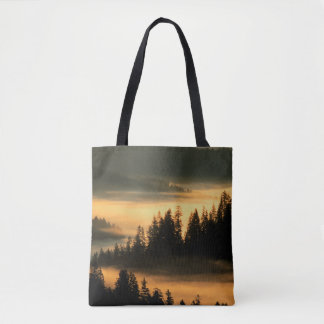 Suislaw National Forest at Dawn Tote Bag