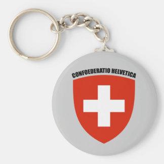 Suisse: Confoederatio Helvetica Key Chain