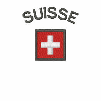 Suisse Ladies Polo With Switzerland Pocket Flag