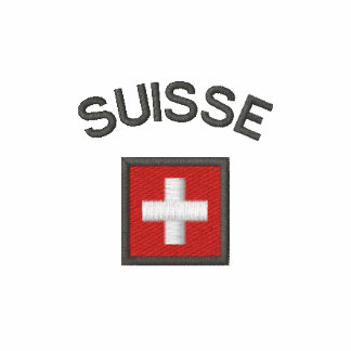 Suisse Long Sleeve With Switzerland Pocket Flag