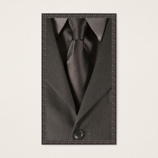 Suit and Tie - Business Card