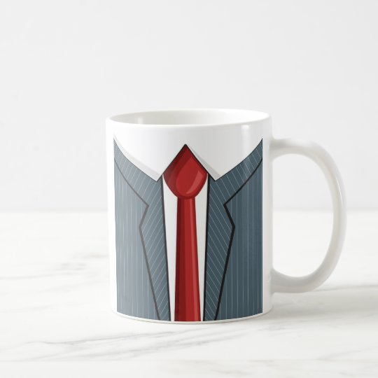 Suit n Tie Coffee Mug