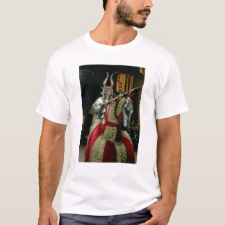 Suit of armour and matching horse armour T-Shirt