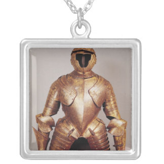 Suit of armour belong to Charles de Lorraine Silver Plated Necklace