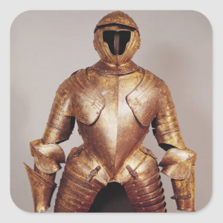 Suit of armour belong to Charles de Lorraine Square Sticker