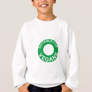 suitable for vegans sweatshirt