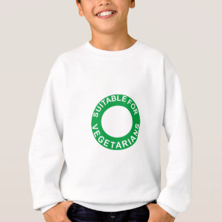 Suitable For Vegetarians Sweatshirt