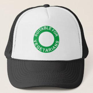 Suitable For Vegetarians Trucker Hat