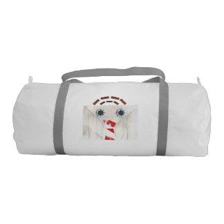 Suitcase Man Duffle Gym Bag