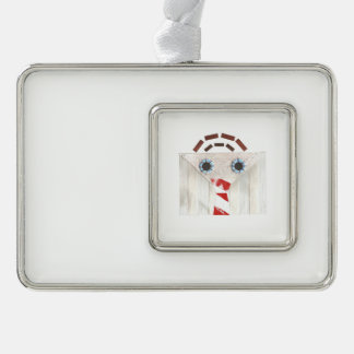 Suitcase Man Framed Ornament