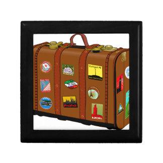 Suitcase Small Square Gift Box