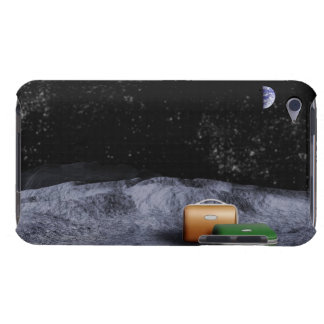 Suitcases on the Moon Barely There iPod Cases