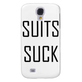 Suits Suck Galaxy S4 Cover