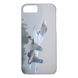 Sukhoi SU-27 'Flanker_Aviation Photograp II iPhone 7 Case