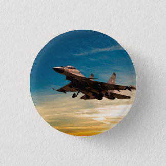Sukhoi Su-30 Mark 1 3 Cm Round Badge