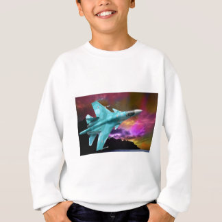 Sukhoi Su-47 (S-37) Berkut Supersonic Jet Fighter Sweatshirt