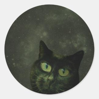 Suki Round Sticker